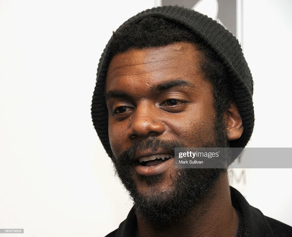 Musician Gary Clark Jr. before An Evening With Gary Clark Jr. at The GRAMMY Museum on September 30, 2013 in Los Angeles, California.