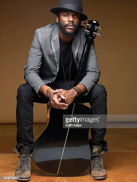 Musician Gary Clark Jr is photographed for YRB Magazine on November 1 2012 in New York City