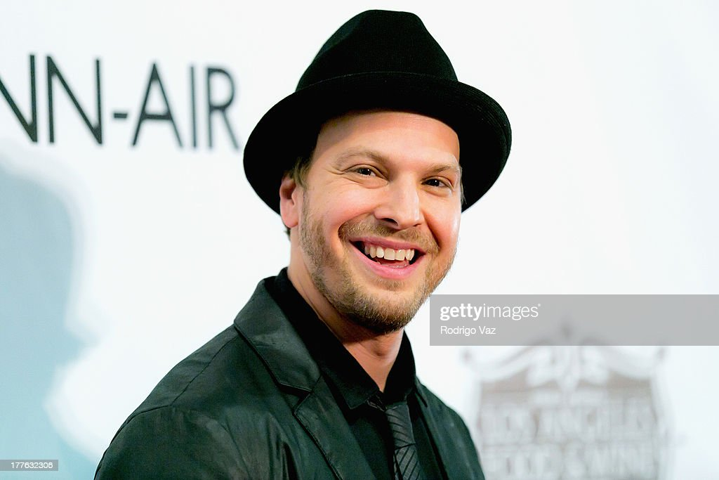 Musician Gavin DeGraw attends LEXUS Live On Grand at the 3rd Annual Los Angeles Food & Wine Festival arrivals on August 24, 2013 in Los Angeles, California.