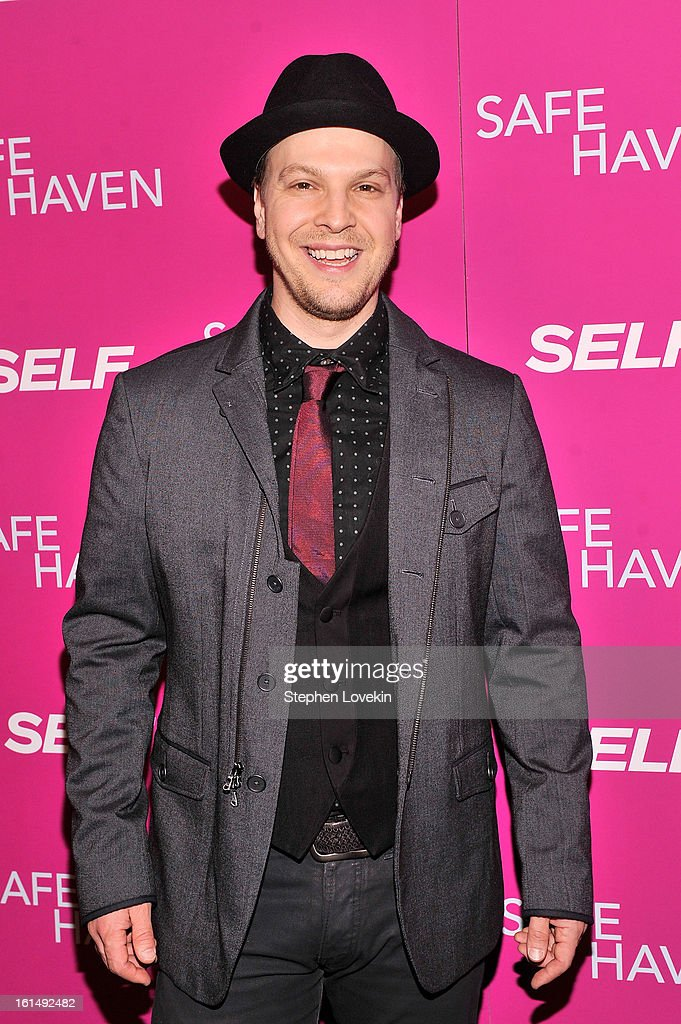 Musician Gavin DeGraw attends SELF Magazine and Relativity Media's special New York screening of 'Safe Haven' at Landmark Theatres Sunshine Cinema on February 11, 2013 in New York City.