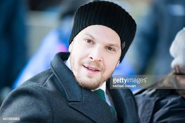 Musician Gavin Degraw attends the 87th annual Macy's Thanksgiving Day parade on November 28 2013 in New York City