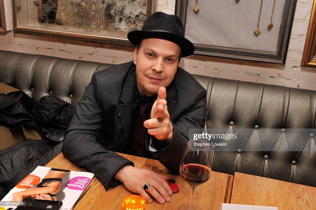 Musician <a gi-track='captionPersonalityLinkClicked' href=/galleries/search?phrase=Gavin+DeGraw&family=editorial&specificpeople=203282 ng-click='$event.stopPropagation()'>Gavin DeGraw</a> attends the after-party for SELF Magazine and Relativity Media's special New York screening of 'Safe Haven' at Beauty and Essex on February 11, 2013 in New York City.