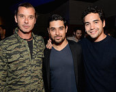 Musician Gavin Rossdale and actors Wilmer Valderrama and Ramon Rodriguez attend Montblanc and Urban Arts Partnership's 24 Hour Plays in Los Angeles...
