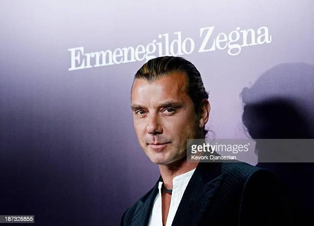 Musician Gavin Rossdale arrives to the Ermenegildo Zegna Global Store Opening hosted by Gildo Zegna and Stefano Pilati at Ermenegildo Zegna Boutique...