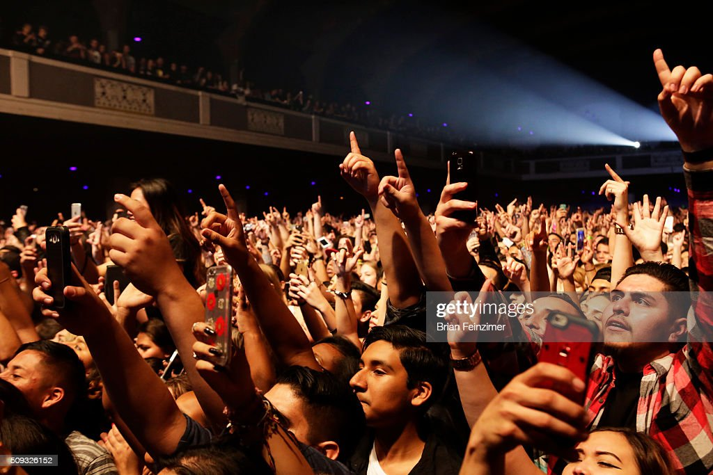 Musician <a gi-track='captionPersonalityLinkClicked' href=/galleries/search?phrase=G-Eazy&family=editorial&specificpeople=9024597 ng-click='$event.stopPropagation()'>G-Eazy</a> performs at The Shrine Auditorium on February 09, 2016 in Los Angeles, California.