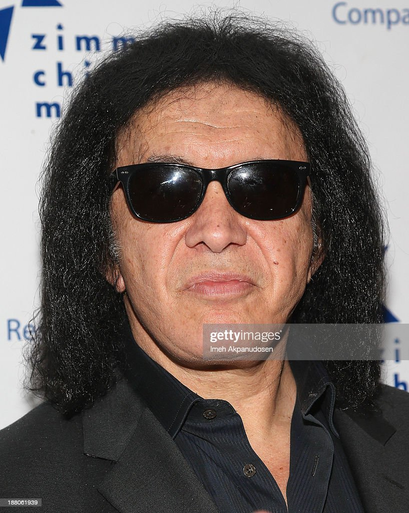 Musician <a gi-track='captionPersonalityLinkClicked' href=/galleries/search?phrase=Gene+Simmons&family=editorial&specificpeople=138593 ng-click='$event.stopPropagation()'>Gene Simmons</a> attends the 13th Annual Discovery Award Dinner presented by the Zimmer Children's Museum at Beverly Hills Hotel on November 14, 2013 in Beverly Hills, California.