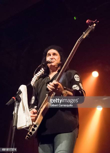 Musician Gene Simmons performs during Gene Simmons His Band Live In Concert at Trocadero Theater on June 2 2017 in Philadelphia Pennsylvania