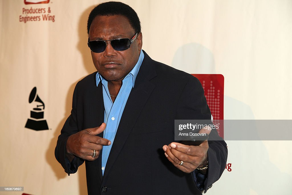 Musician <a gi-track='captionPersonalityLinkClicked' href=/galleries/search?phrase=George+Benson&family=editorial&specificpeople=216570 ng-click='$event.stopPropagation()'>George Benson</a> attends the producers & engineers wing of the recording Academy's 6th Annual GRAMMY Event 'An Evening Of Jazz' at The Village Recording Studios on February 6, 2013 in Los Angeles, California.