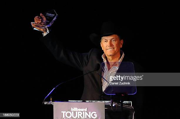 Musician George Strait attends the 10th Anniversary Billboard Touring Awards at the Roosevelt Hotel on November 14 2013 in New York City