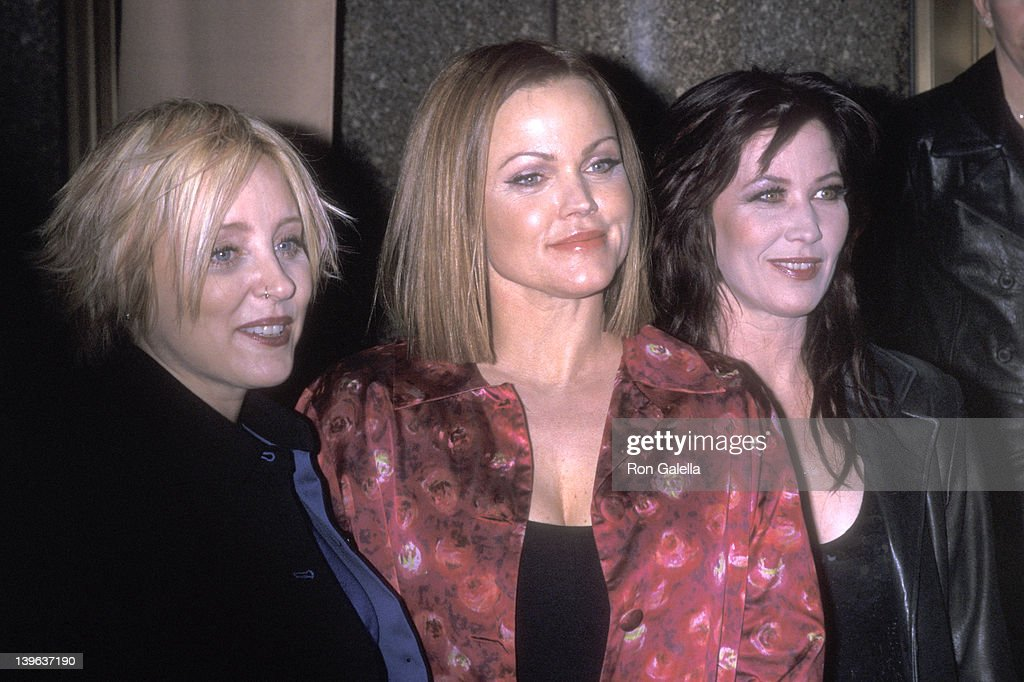 Musician Gina Shock musician Belinda Carlisle and musician Kathy Valentine attend the TNT Masters Series Presents An AllStar Tribute to Brian Wilson...