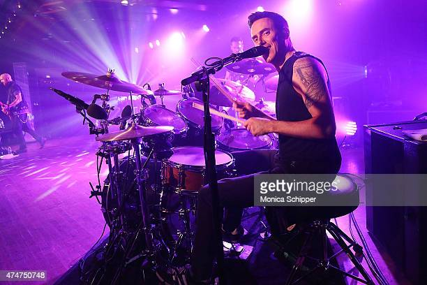 Musician Glen Power of The Script performs a private concert for SiriusXM listeners at Marlin Room at Webster Hall on May 25 2015 in New York City