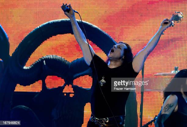 Musician Glenn Danzig performs at the 5th Annual Revolver Golden Gods Award Show at Club Nokia on May 2 2013 in Los Angeles California