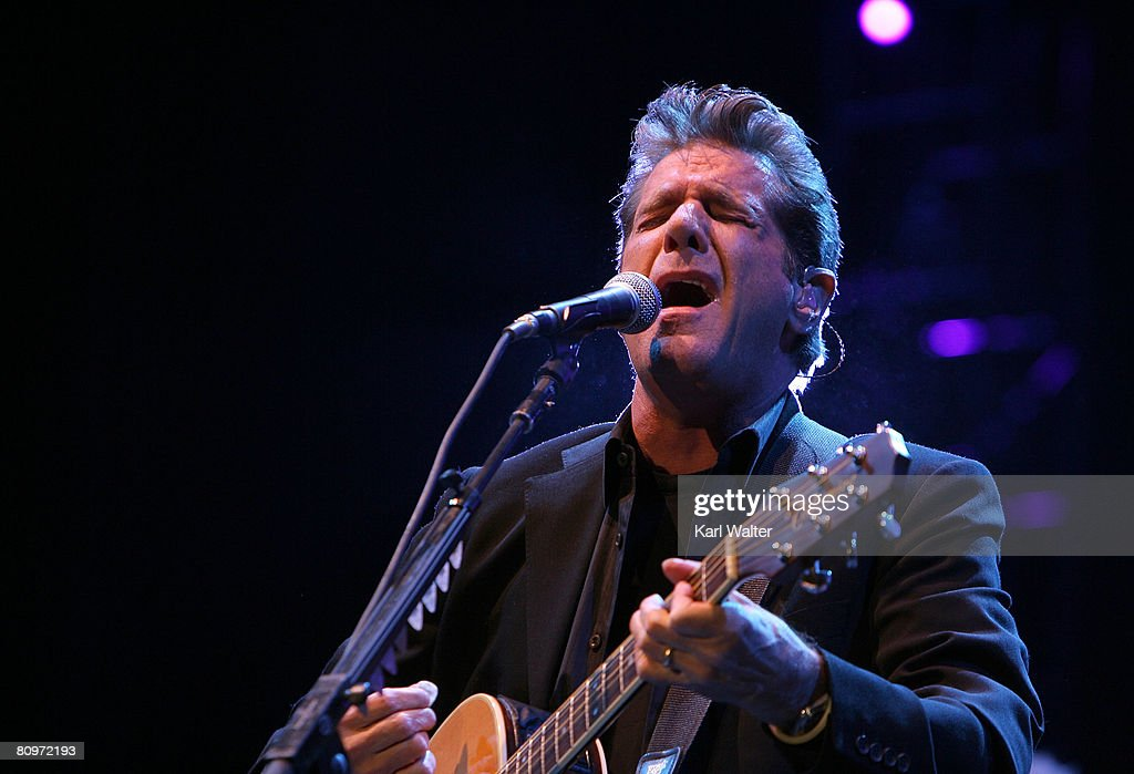 Musician <a gi-track='captionPersonalityLinkClicked' href=/galleries/search?phrase=Glenn+Frey&family=editorial&specificpeople=223995 ng-click='$event.stopPropagation()'>Glenn Frey</a> of the Eagles performs during day 1 of Stagecoach, California's Country Music Festival held at the Empire Polo Field on May 2, 2008 in Indio, California.