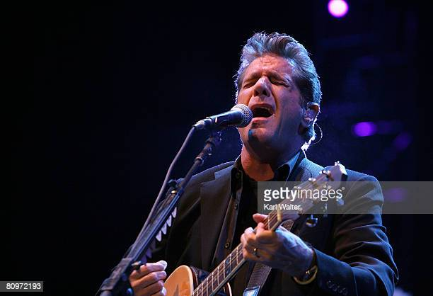 Musician Glenn Frey of the Eagles performs during day 1 of Stagecoach California's Country Music Festival held at the Empire Polo Field on May 2 2008...