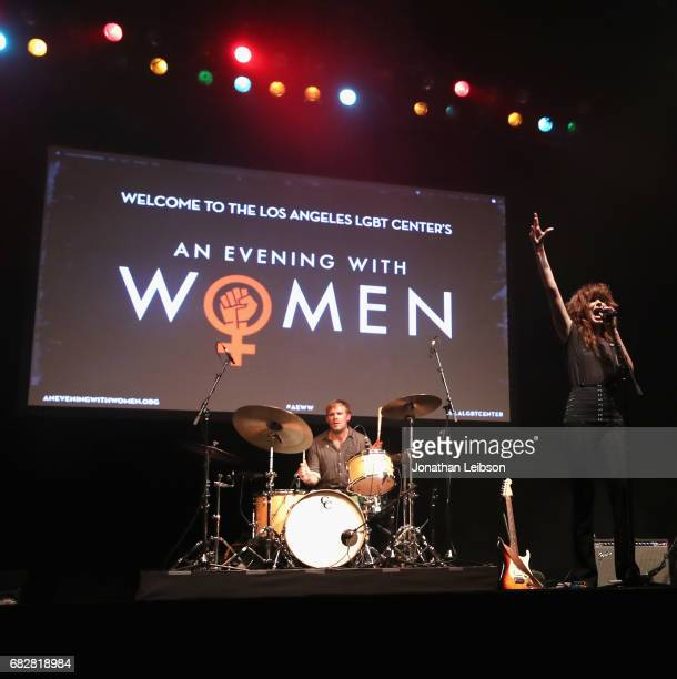 Musician Grace Mitchell performs onstage at the Los Angeles LGBT Center's 'An Evening With Women' at Hollywood Palladium on May 13 2017 in Los...