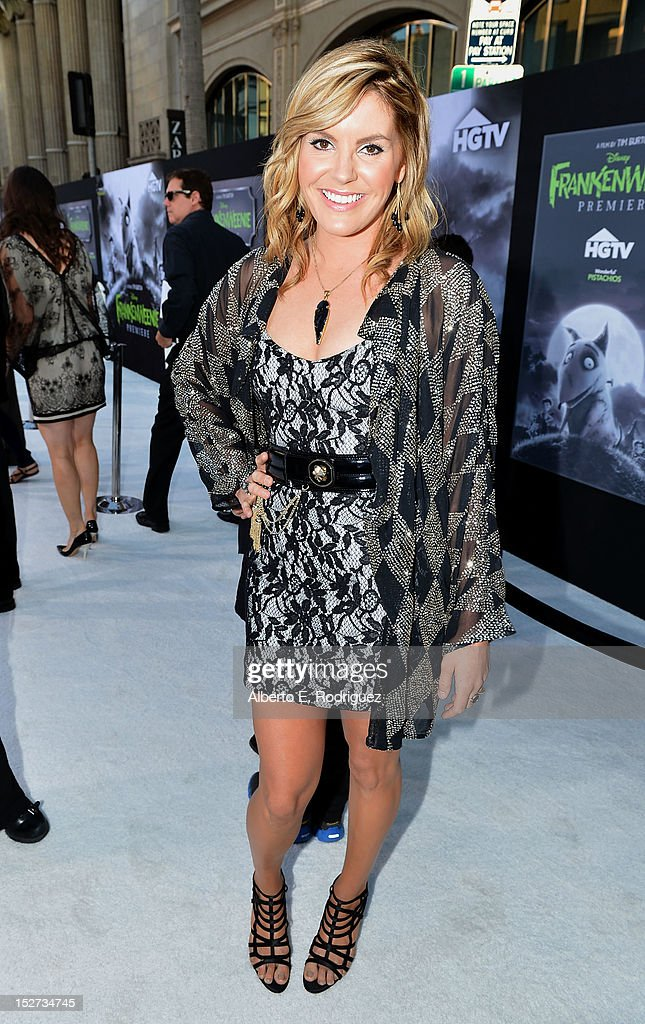 Musician Grace Potter arrives at Disney's 'Frankenweenie' premiere at the El Capitan Theatre on September 24, 2012 in Hollywood, California.