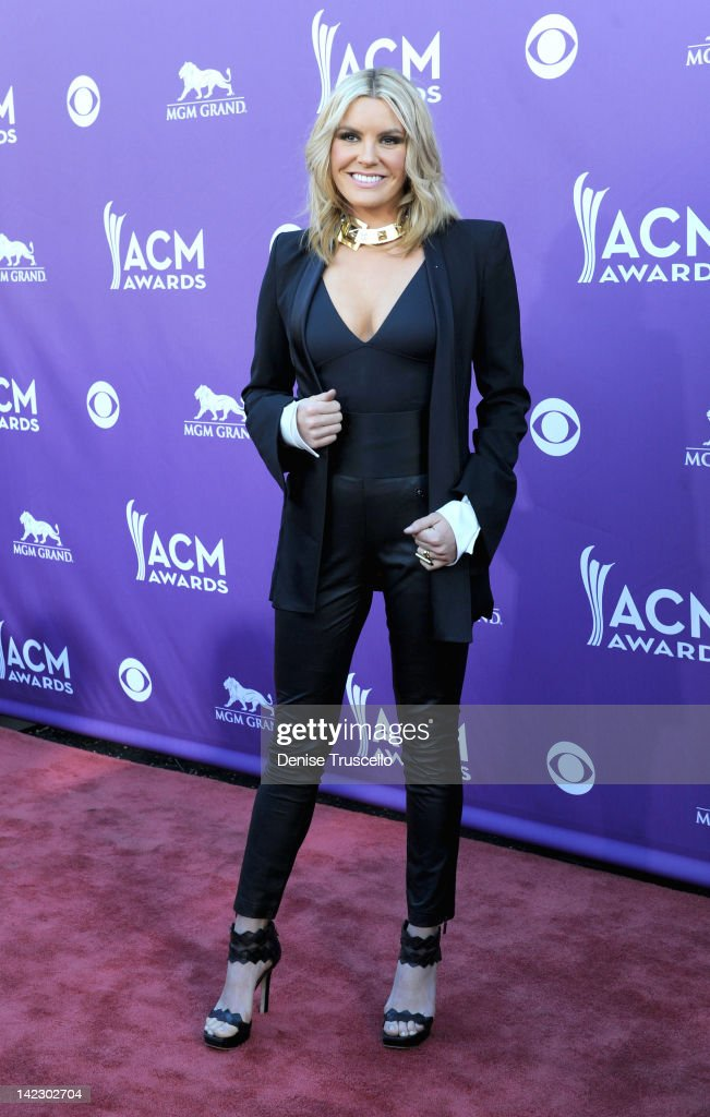 Musician Grace Potter arrives at the 47th Annual Academy Of Country Music Awards held at the MGM Grand Garden Arena on April 1, 2012 in Las Vegas, Nevada.