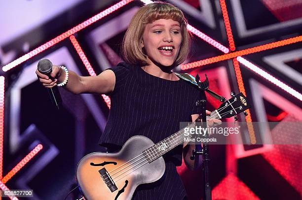 Musician Grace VanderWaal performs onstage during Z100's Jingle Ball 2016 at Madison Square Garden on December 9 2016 in New York New York