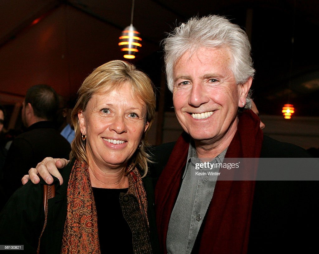 Musician Graham Nash from the band Crosby Stills Nash and Young and his wife Susan Sennett attend the after party for the world premiere of the film...