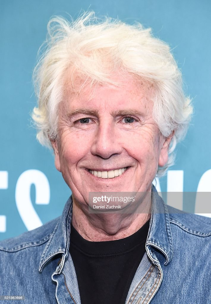 Musician Graham Nash poses before signing copies of his new album 'The Path Tonight' at Barnes & Noble Citigroup Center on April 15, 2016 in New York City.