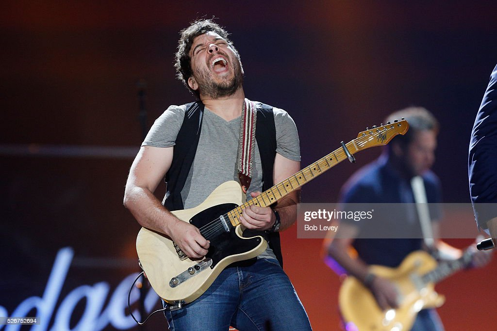 Musician Greg Carrillo performs onstage during the 2016 iHeartCountry Festival at The Frank Erwin Center on April 30, 2016 in Austin, Texas.