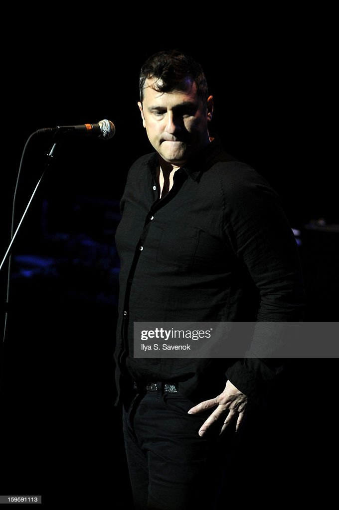 Musician Greg Dulli of Afghan Whigs performs during Life Along The Borderline: A Tribute To Nico at BAM on January 16, 2013 in New York City.