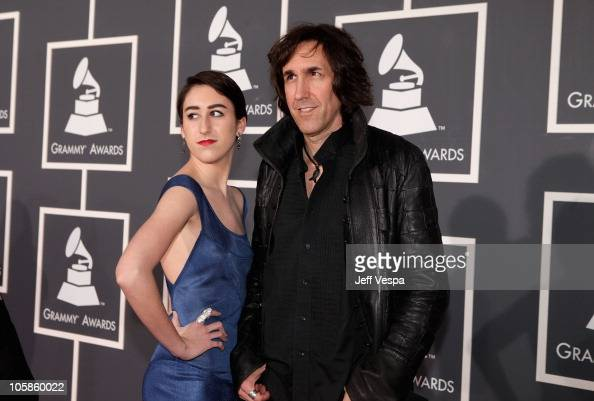 Musician Greg Waterman and daughter...