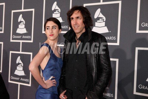 Musician Greg Waterman and daughter...