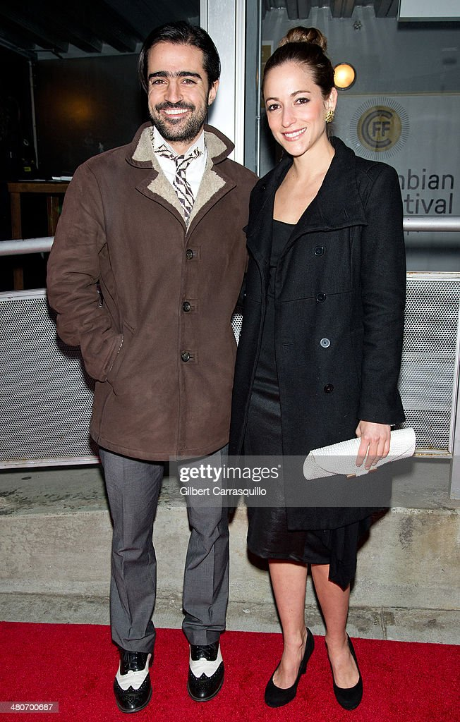 Musician Gregorio Uribe and actress Carolina Ravassa attend the opening night of the 2nd annual Colombian International Film Festival at Tribeca Cinemas on March 26, 2014 in New York City.