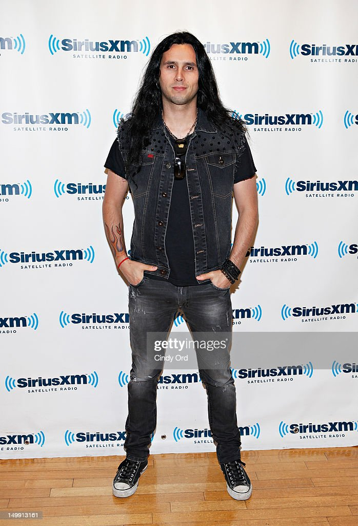 Musician Gus G visits SiriusXM Studio on August 6, 2012 in New York City.