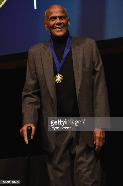 Musician Harry Belafonte receives The Lifetime Achievement Award onstage during the Jefferson Awards Foundation 2017 NYC National Ceremony at Gotham...