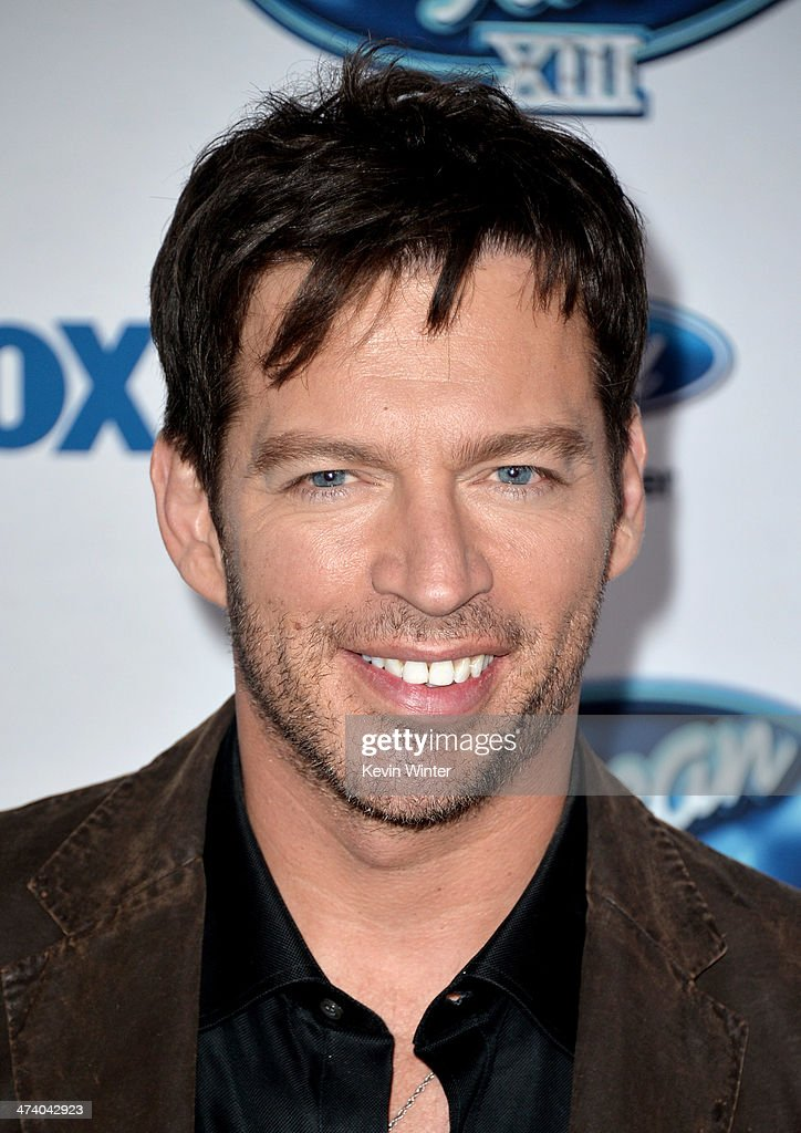 Musician <a gi-track='captionPersonalityLinkClicked' href=/galleries/search?phrase=Harry+Connick+Jr&family=editorial&specificpeople=211285 ng-click='$event.stopPropagation()'>Harry Connick Jr</a>. arrives at Fox's 'American Idol Xlll' Finalists Party at Fig and Olive on February 20, 2014 in West Hollywood, California.