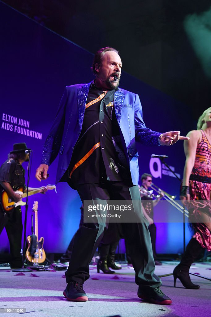 Musician Harry Wayne 'K.C.' Casey of KC and The Sunshine Band performs onstage at Elton John AIDS Foundation's 14th Annual An Enduring Vision Benefit at Cipriani Wall Street on November 2, 2015 in New York City.