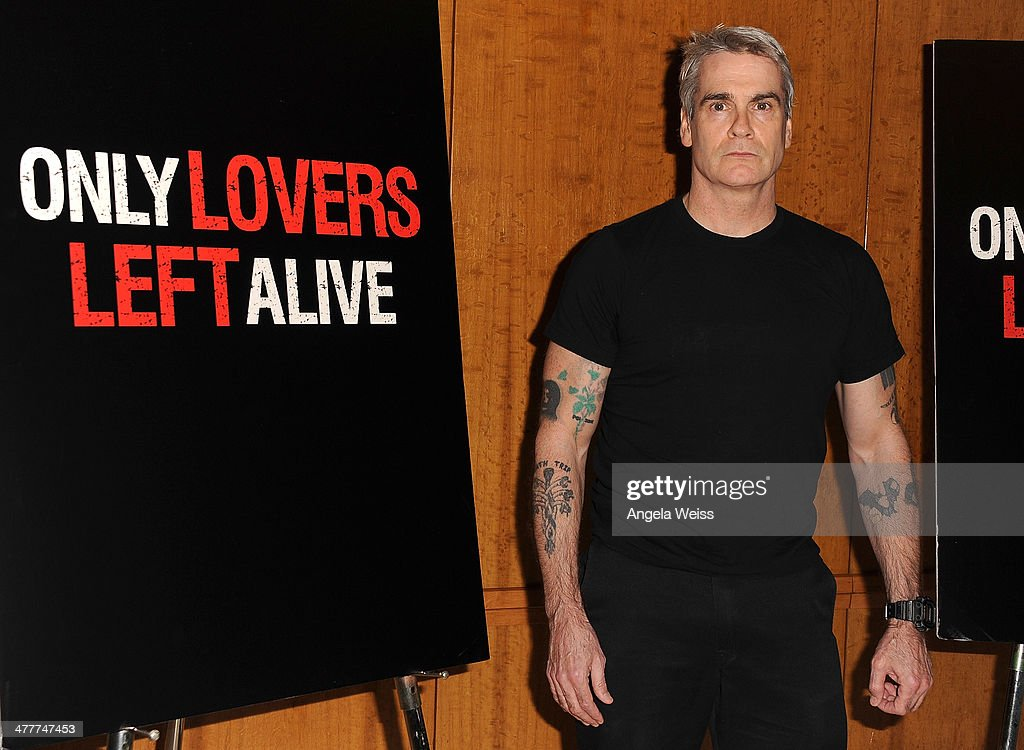 Musician <a gi-track='captionPersonalityLinkClicked' href=/galleries/search?phrase=Henry+Rollins&family=editorial&specificpeople=220499 ng-click='$event.stopPropagation()'>Henry Rollins</a> attends The Academy of Motion Picture Arts & Sciences screening of 'Only Lovers Left Alive' at Bing Theatre At LACMA at Bing Theatre At LACMA on March 10, 2014 in Los Angeles, California.