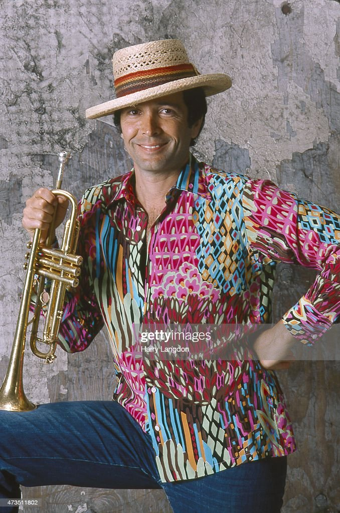 Musician Herb Alpert poses for a portrait in 1990 in Los Angeles, California.