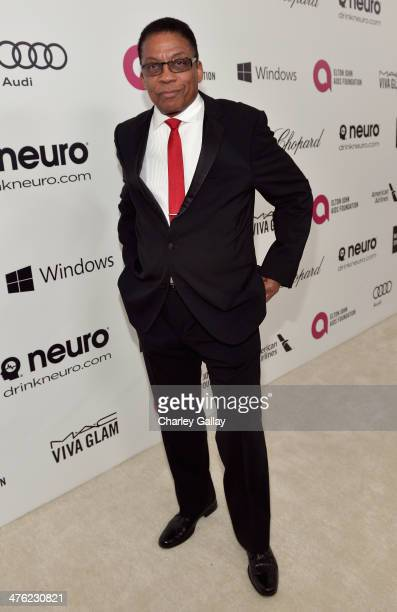 Musician Herbie Hancock attends Neuro at the 22nd Annual Elton John AIDS Foundation Academy Awards Viewing Party at The City of West Hollywood Park...