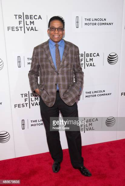 Musician Herbie Hancock attends the premiere of 'Keep On Keepin' On' during the 2014 Tribeca Film Festival at BMCC Tribeca PAC on April 19 2014 in...