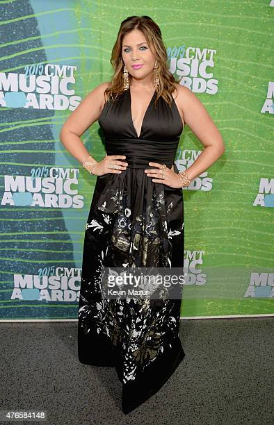Musician Hillary Scott attends the 2015 CMT Music awards at the Bridgestone Arena on June 10 2015 in Nashville Tennessee