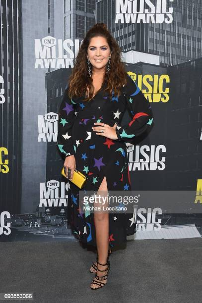 Musician Hillary Scott of Lady Antebellum attends the 2017 CMT Music Awards at the Music City Center on June 7 2017 in Nashville Tennessee