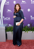 Musician Hillary Scott of music group Lady Antebellum arrives at the 48th Annual Academy of Country Music Awards at the MGM Grand Garden Arena on...