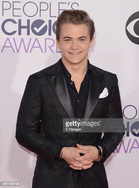 Musician Hunter Hayes attends the 2015 People's Choice Awards at Nokia Theatre LA Live on January 7 2015 in Los Angeles California