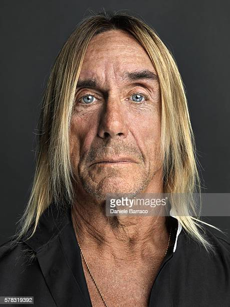 Musician Iggy Pop is photographed for Self Assignment in 2012