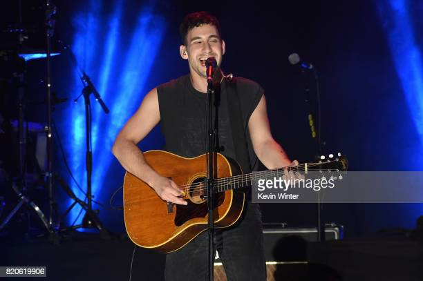 Musician Jack Antonoff of Bleachers performs onstage during MTV Fandom Fest at PETCO Park on July 21 2017 in San Diego California