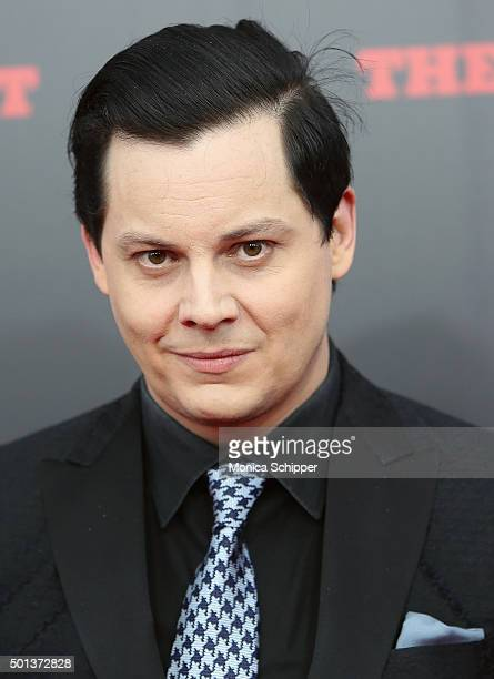 Musician Jack White attends the The New York Premiere Of 'The Hateful Eight' on December 14 2015 in New York City