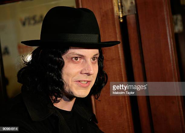 Musician Jack White attends the 'The White Stripes Under Great White Northern Lights' screening held at Elign Theatre during the 2009 Toronto...