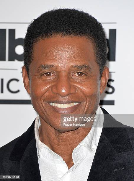 Musician Jackie Jackson poses in the press room during the 2014 Billboard Music Awards at the MGM Grand Garden Arena on May 18 2014 in Las Vegas...