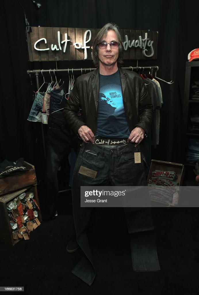 Musician Jackson Browne attends the Gift Lounge at the 28th Rock and Roll Hall of Fame Induction Ceremony presented by I Can't Believe It's Not Butter! 'Breakfast After Dark' produced by On 3 Productions at Nokia Theatre L.A. Live on April 17, 2013 in Los Angeles, California.