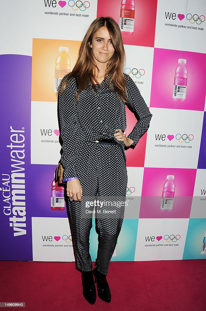 Musician Jade Williams aka Sunday Girl arrive as Glaceau vitaminwater presents 'Jessie J Live In London' at The Roundhouse on August 4, 2012 in London, England.