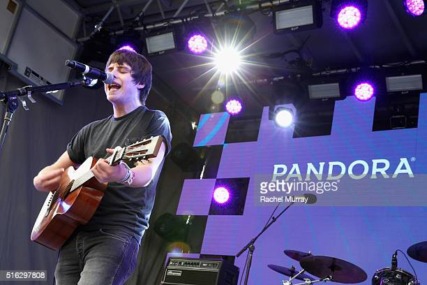 Musician Jake Bugg performs onstage during the PANDORA Discovery Den SXSW on March 17 2016 in Austin Texas