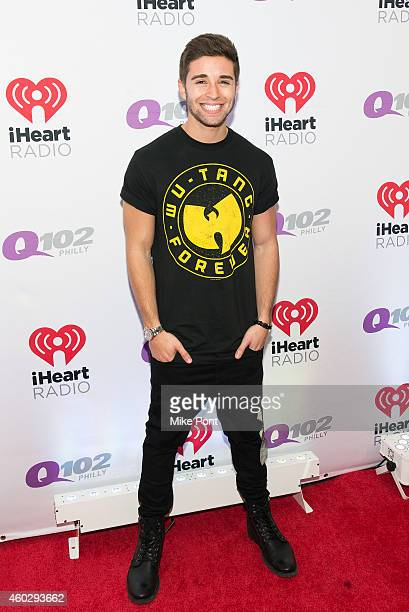 Musician Jake Miller attends Q102's Jingle Ball on December 10 2014 at the Wells Fargo Center in Philadelphia Pennsylvania